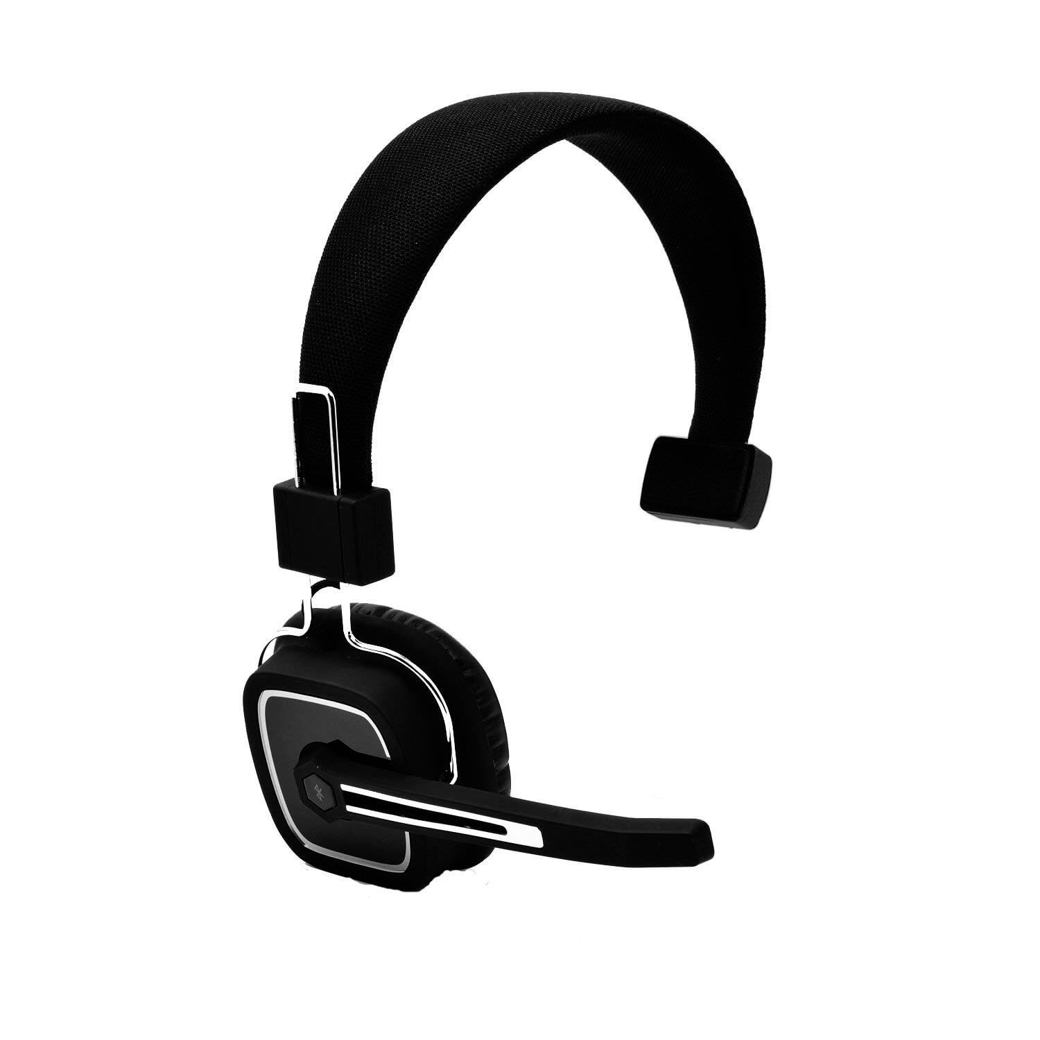 127e9b40078 YAMAY® Bluetooth Wireless Headset with Flexible Boom Mic and Noise ...