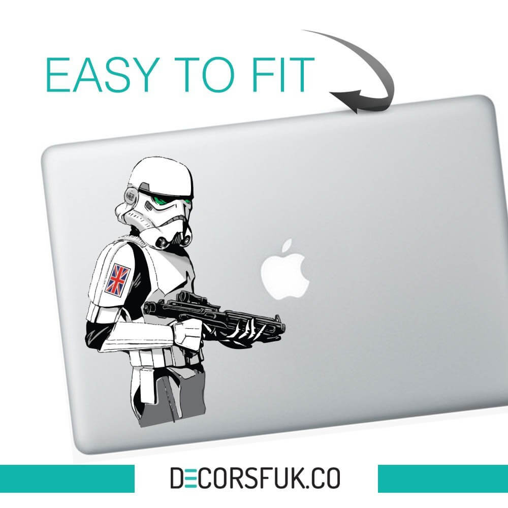 Great britain stormtrooper sticker