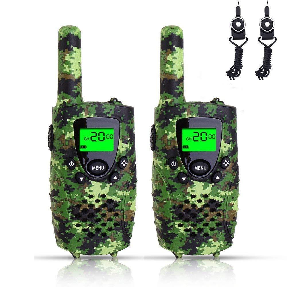 f5a60960b73 Walkie Talkies Two Way Radios for Children (Camo Green) – IT Matters