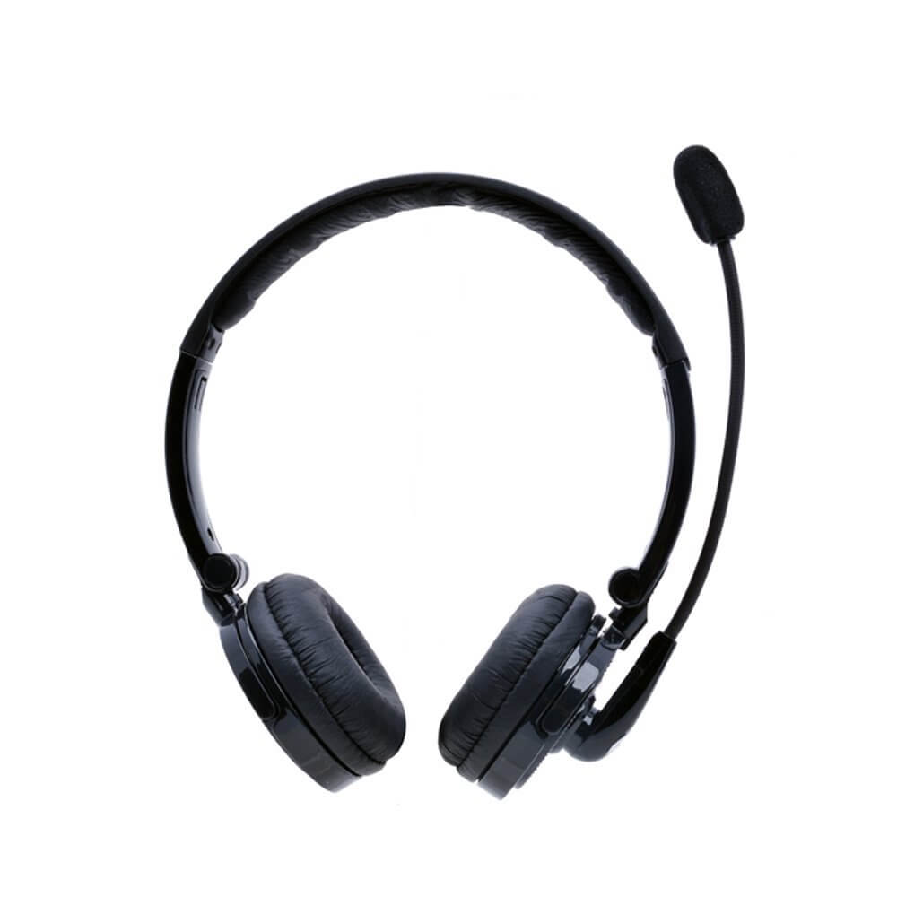 b535b5ad2d7 YAMAY® Bluetooth Over the Head Wireless Headset with Flexible Boom ...