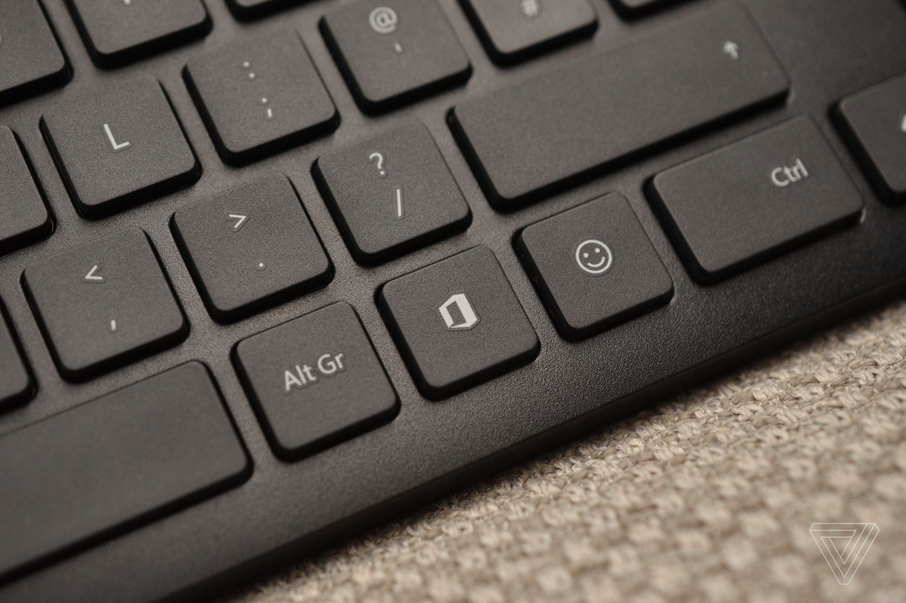 Microsoft has dedicated Office and emoji keys on its new keyboards